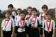 Runners from the Year 5 and Year 3/4 Bolton School Junior Boys