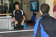 Ping-pong was a hit among the Year 11s
