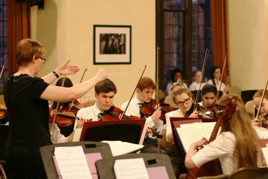 Senior School pupils supported the Workshop Orchestra at the performance