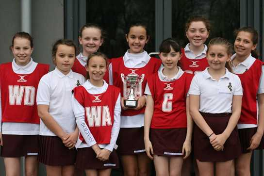 The girls capped a highly successful season by winning the Town's High 5s' Tournament