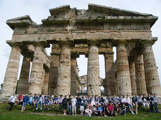 Greek temples on the Italy trip