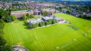 Pupils enjoy the use of 32 acres of sports fields