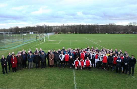 100 Year of football at Bolton School