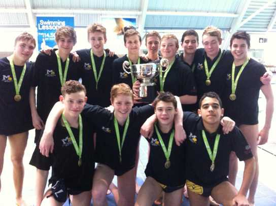 Bolton School boys play a big part in the City of Manchester Water Polo Club teams who have both won national titles