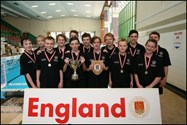 Bolton School National U14 Water Polo Champions