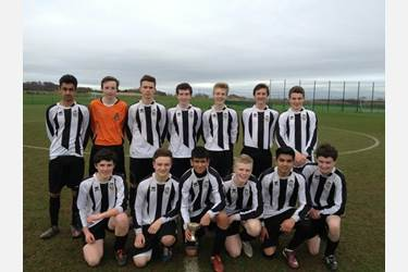 Bolton School are the U16 Football Town Champions