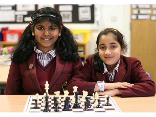 Sharon and Mahima will both represent England at chess