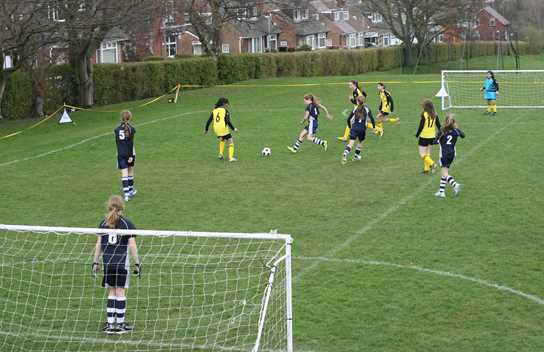 Bolton School hosted its first festival of girls football