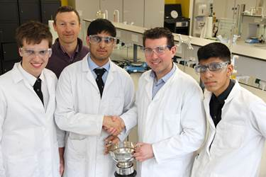 Royal Society of Chemistry Schools Analyst Competition Bolton School Winners