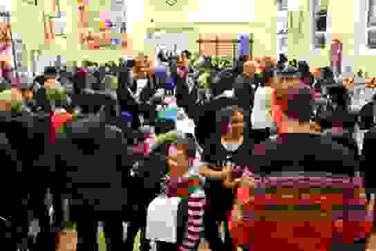 The Christmas Fair is always a very popular event