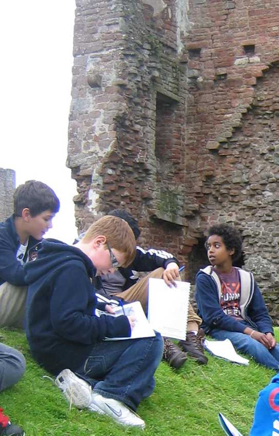 Year 7  visit to Brougham Castle, Penrith