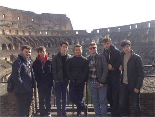 The History trip to Rome