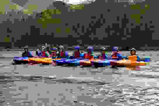 Junior Girls Patterdale Kayaking