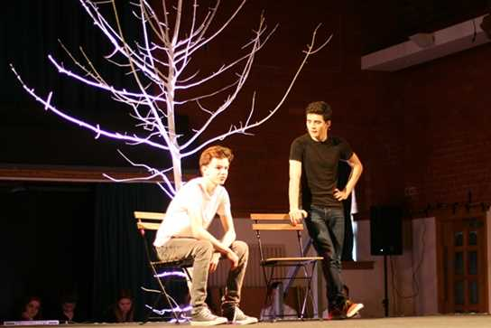 Boys Division Drama students
