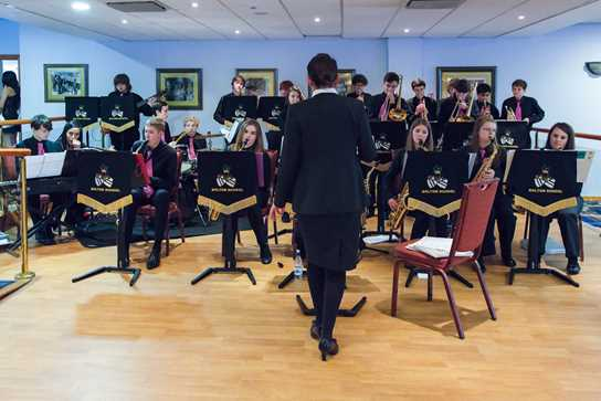 The Bolton School Jazz Band