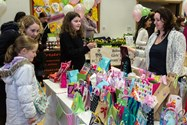 The Hesketh House Hall was packed with stalls
