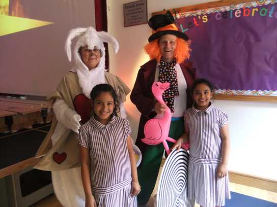 Bolton School Mad Hatters Tea Party