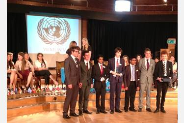 Bolton School Senior Boys Model UN