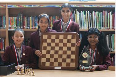 Girls are National U11 Chess Champions