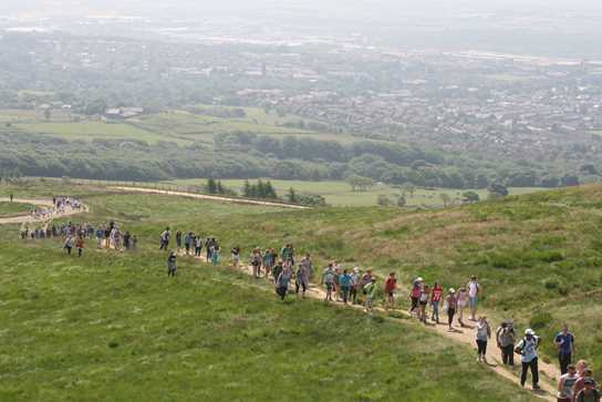 Charity Walk to Rivington Pike