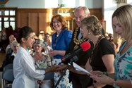 Awards were handed out by the Mayor and Mayoress of Bolton