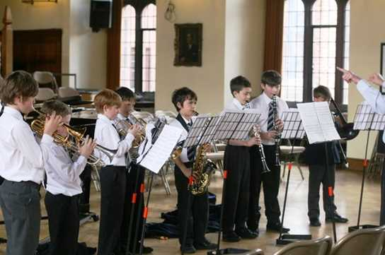 The Wind Band delighted the audience with their performance