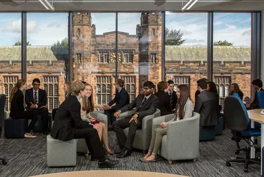 The Riley Centre offers a shared space for Sixth Form pupils from both divisions