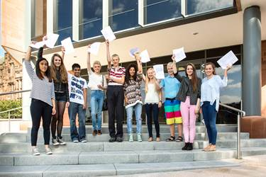 Ten girls and 7 boys achieved 10 or 11 A*s