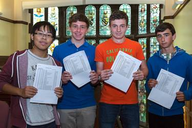 The Boys' Division has celebrated its best GCSE results in 5 years