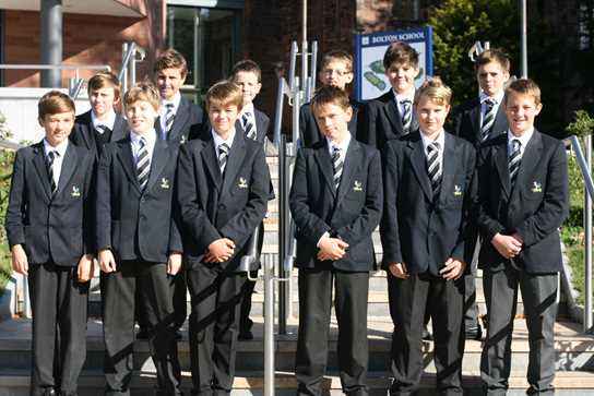 A large tranche of Year 8 pupils from Bolton School will join the regional squad after trials at Manchester