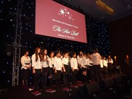 Bolton School girls performed at the Star Ball
