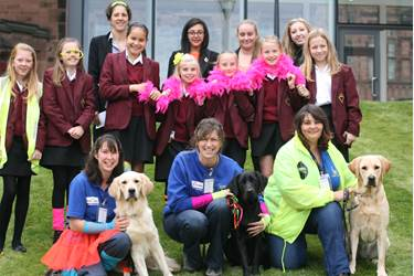 As ever the presence of guide dogs in school caused much excitement, amongst pupils and staff!
