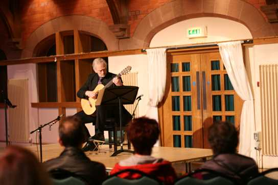 Gisle Krogseth Gives Lunchtime Guitar Recital at Bolton School