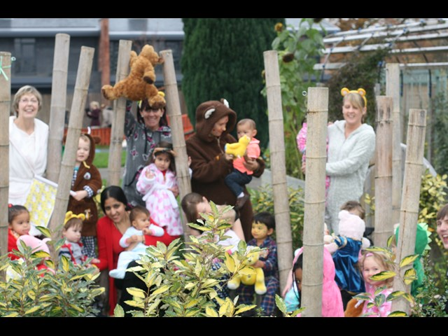 Pudsey Themed Fun Day at the Nursery