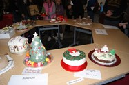 A selection of cakes from the Bake Off