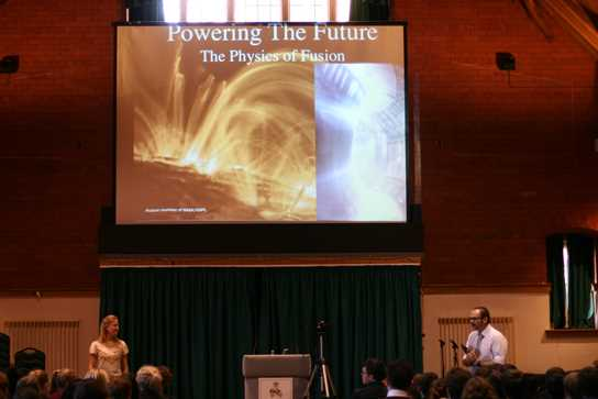 Students learnt of a Future Powered by Fusion
