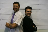 Dan Boyle, Barzan Keywan and their Moustaches!