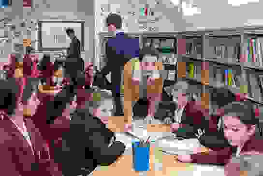 Senior Girls Curriculum Enrichment Programme Helping Out Young Readers