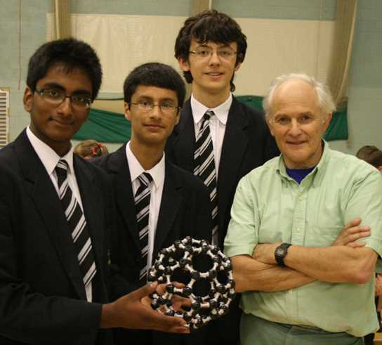 Sir Harry Kroto, the Nobel Prize winning chemist, was a former pupil of the School
