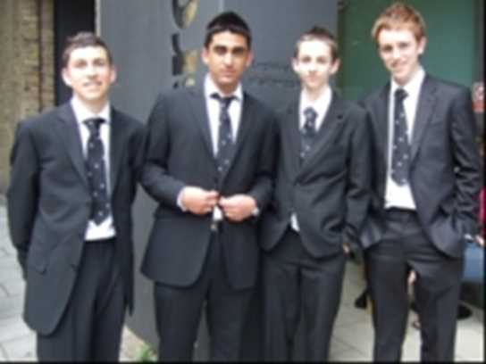 The team that gained 3rd place in the 2008 National CIMA competition