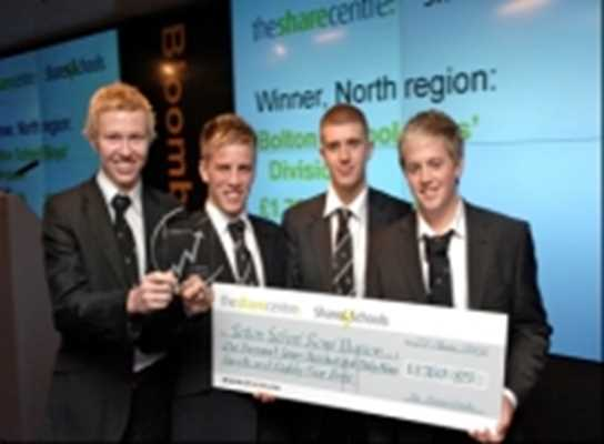 The Regional Winners, Shares4Schools, 2007