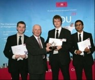 The 2nd place team, 2006 National CIMA competition