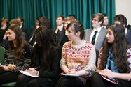 The Year 12 pupils were really engaged with the topics discussed