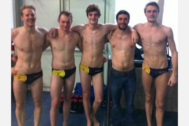 Charles Booth, Aaron Winstanley, James Barker, Rob Rae and Ed Scott all played in the City of Manchester water polo team at the British Championships