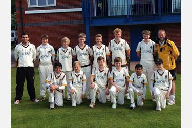 The U13 Cricket Team