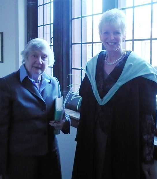 Baroness Shirley Williams and Mrs Gill Richards