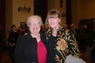 Old Girls Dame Janet Smith and Marjorie Simms