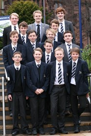 The boys who have been successful in the GB trials