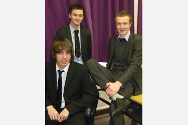 Alistair Charleston, Nathan Johnson and Henry Wakerley