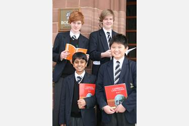 Adam Woolley, Peter Swift, Chandresh Khimji and Dominic Fung